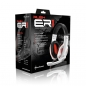 Sharkoon Rush ER1 Headset - 2.0 Stereo - Weiß/rot