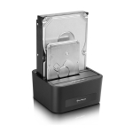 "Sharkoon Quickport XT Duo Clone 3,5"" USB3.0 - SATA"